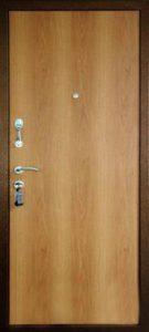 Дверь Аргус 3 Б вид изнутри