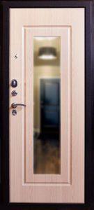 Дверь Аргус с зеркалом вид изнутри