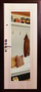 Внутренняя часть двери Аргус с зеркалом