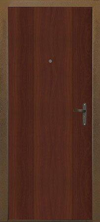 Дверь Логика вид сзади