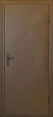 Простая входная дверь Логика Техно