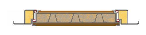 Конструкция дверей Гранит М2 Люкс