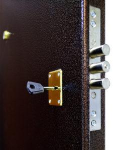 Замок Крит Мэттэм стальной двери Гранит М2