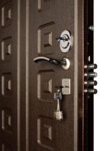 Дверь Гранит М5 снаружи