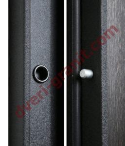 Противосъемные штыри входной двери Гранит Т3