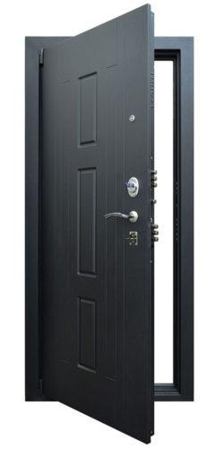Входная дверь с зеркалом Гранит Т3М