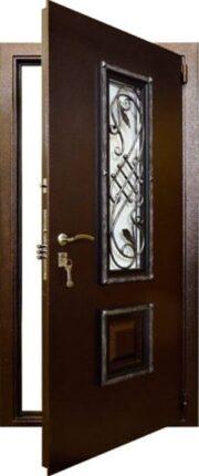 Уличная дверь Гранит Коттедж
