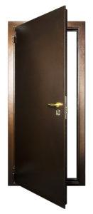 Общий вид уличной стальной двери Гранит Дача