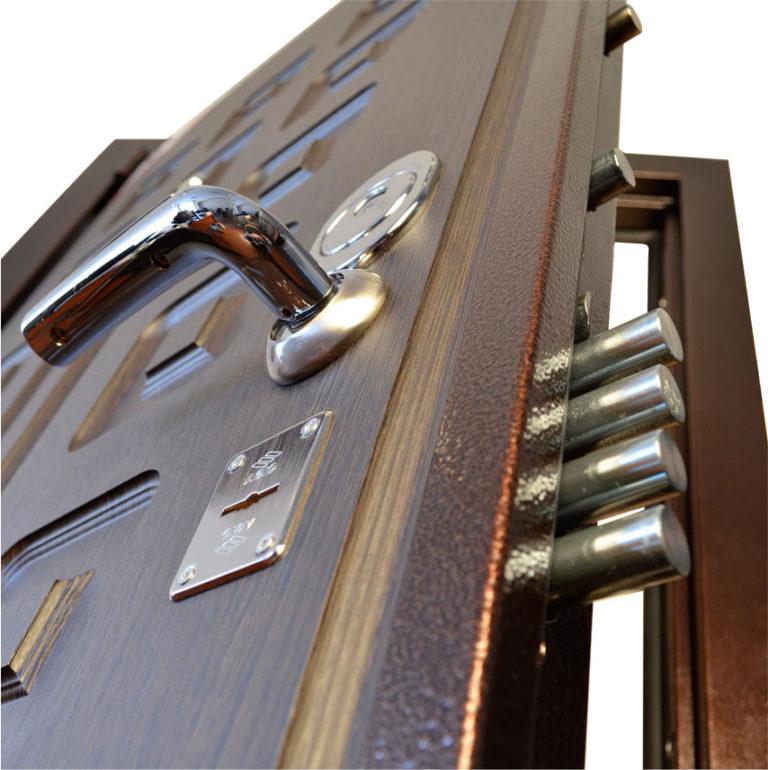 стальные двери изготовление установка