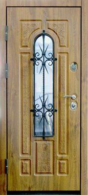Элитная уличная входная дверь Усадьба