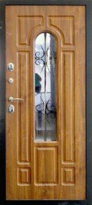 Дверь премиум-класса Усадьба изнутри