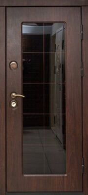 Уличная дверь Логика Валенсия со стеклом