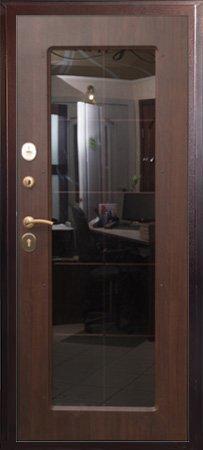 Уличная дверь Логика Валенсия изнутри