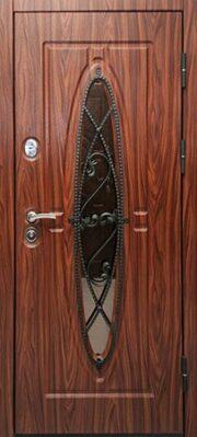 Уличная дверь Логика Сорренто со стеклом